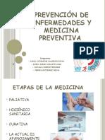 Prevención de enfermedades y medicina preventiva