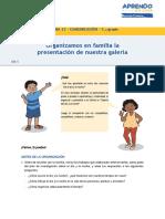 FICHA PARA LOS ESTUDIANTES - SEMANA 23 - COMUNICACIÓN