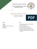 Instrução Técnica Formação de Brigada no Piaui