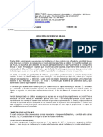 Conteúdo teórico Educação Física Futebol Ensino Médio
