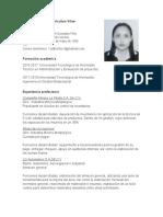 CV LINDA GONZALEZ FELIX
