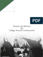 Proyecto de Reforma del Código Procesal Constitucional