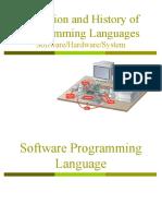 Lec 3 - Programming Language (1)