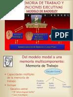 MEMORIA DE TRABAJO Y FUNCIONES EJECUTIVAS