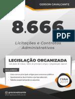 2019-Lei Nº 8.666 - Licitações e Contratos Administrativos - Gerson Cavalcante