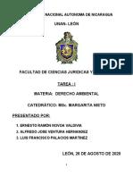 TRABAJO 1 - DERECHO AMBIENTAL - NOVOA
