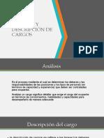 ANALISIS Y DESCRIPCION DE CARGOS (2)