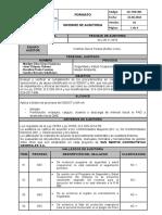 2.- Informe de Auditoría