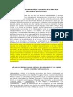 Introducción a la teória crítica y teória de las ideas en el PL