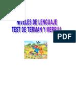 Test de Niveles de Lenguaje-1
