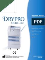 Drypro873_Operation manual