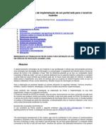 Desenho Proposta Implementacao Portal Web