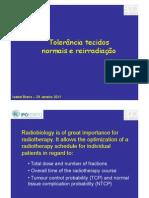 D201 Tolerância tecidos normais e reirradiação