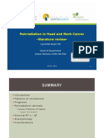 D203 Opções Terapêuticas em Reirradiação Cabeça e Pescoço