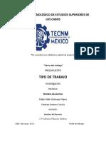 DEFINICIÓN Y CLASIFICACIÓN DE PRESUPUESTO.Act.1