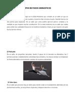 TIPOS DE PASOS GIMNASTICOS