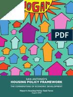 SA Housing Policy Framework