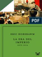 Eric Hobsbawm - La era del imperio 1875-1914, (1987)