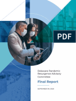 Pandemic Resurgence Advisory Committee Final Report 2020