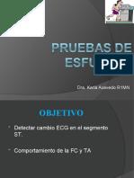 PRUEBAS DE ESFUERZO (procedimiento)