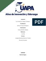 Legislacion Laboral y turistica Unidad III.