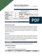 Microcurriculo Practica Empresarial II