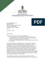 Response FOI 11685