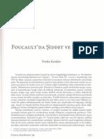 Siddet Ve Iktidar Foucault- Ferda Keskin