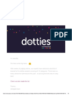 dotties awards the shortlist is out