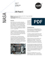 NASA Facts Express Rack 3