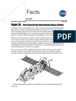 NASA Facts Flight 2R First Crew on the International Space Station
