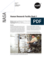 NASA Facts Human Research Facility Rack 1