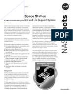 NASA Facts International Space Station Environmental Control and Life Support System 2008