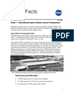 NASA Facts Node 1 International Space Station Launch Preparations