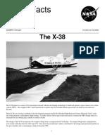 Nasa Facts the X-38 2002