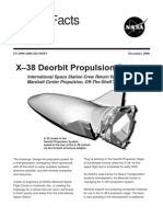 NASA Facts X-38 Deorbit Propulsion System