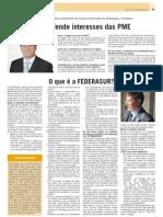 Jornal vida economica - Artur Victoria, Representante da FEDERASUR