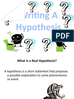 Hypothesis PPT