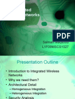 Security of Integrated Wireless Networks - Salman