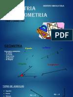 GEOMETRIA TRIGONOMETRIA 1er