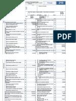 tributario form 210 explic
