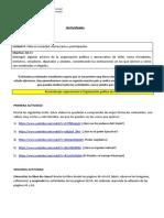 Guía de actividades 4to Organización Politica de Chile