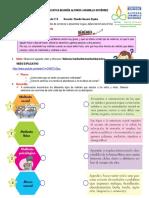 Guía pedagógica Cátedra de la Paz. Grado 5°. Sesión 2.