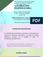 valoración preoperatoria- Dr.Tapia