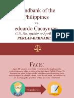 Landbank of the Philippines v Cacayuran.pptx