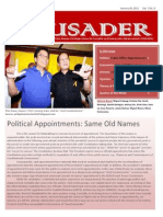 The Crusader - January 26, 2011 (Vol. 1, No. 6)