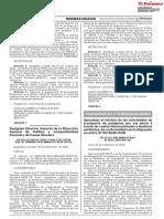 Resolución Ministerial N° 0642-2020-MTC/01