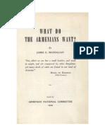 What Do the Armenians Want James G. MANDALIAN ANC 1946