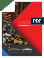 Catálogo Materiales Eléctricos Abril 2017