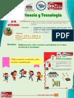 CIENCIA Y TECNOLOGÍA 3 Y 4 ABDEL 28 SETIEMBRE